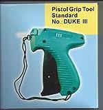 AUTHENTIC DUKE 605S Price Label Tagging Gun+needle&1000 Free Barbs