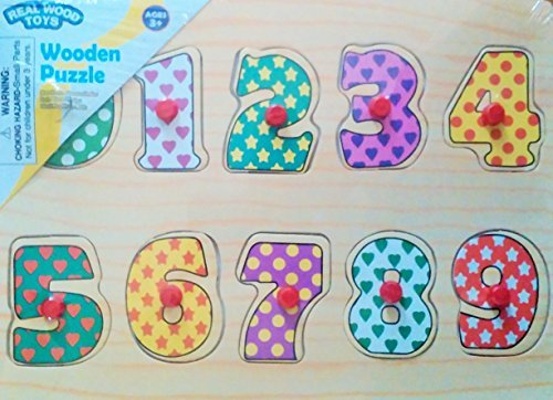 Wooden Number Puzzle - 1