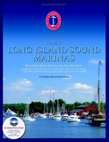 Atlantic Cruising Club'S Guide To Long Island Sound Marinas (Book & Cd-Rom)