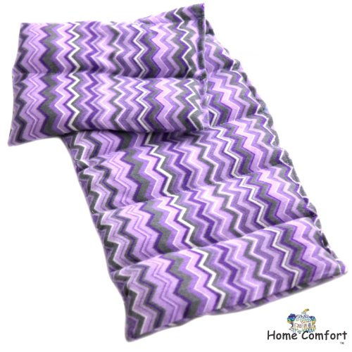 Microwavable Heating Pad (Purple Zigzagg)