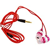 Chrome Compatible Headphones For Sony Xperia U / Pink
