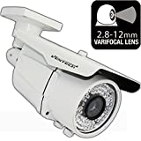 Ventech HD 1000TVL (( 72 IR LED )) AWESOME Quality Video CCTV cmos 960h Bullet Camera Home Security Day/Night Infrared 72IR night Vision Indoor Varifocal 2.8mm-12mm
