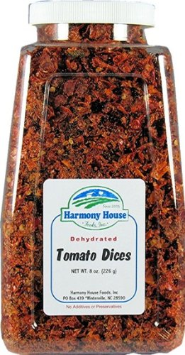 Harmony House Foods Dried Tomato Dices (8 oz,