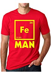 Iron Science T Shirt Funny Chemistry Shirt Fe Periodic Table Tee