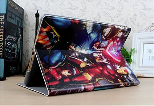 Customized Creative Super Heroes Series Marvel's The Avengers Special Design Water Resistant Automatic Sleep/Wake Hard Smart Case Fit For iPad Mini / Mini 2 Retina / Mini 3 (Marvel Ipad 2 Case compare prices)