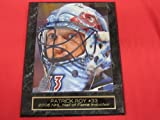 Patrick Roy Colorado Avalanche Collector Plaque w/8x10 Photo GREAT CLOSE UP with MASK at Amazon.com