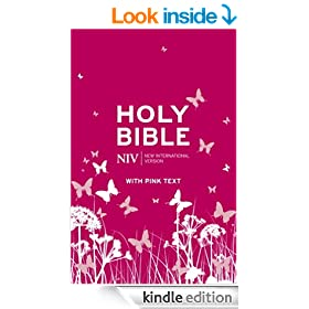 NIV Pink Bible (Pink Soft-tone with Zip Book 1)