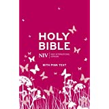 NIV Pink Bible (Pink Soft-tone with Zip)by New International Version