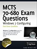 51FRh4fUhfL. SL160  Top 5 Books of MCSE Exams Certification for January 15th 2012  Featuring :#5: MCTS 70 680 Exam Prep Questions: Microsoft Windows 7, Configuring