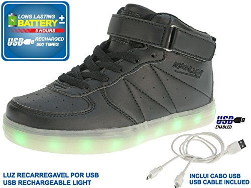 Beppi, Sneaker bambini, Nero (nero), 40