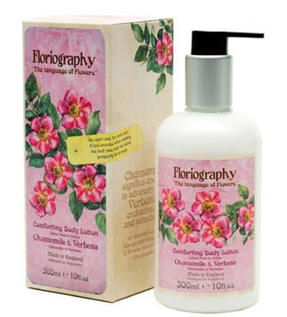 Body Lotion Chamomile & Verbena Floriography By Npw