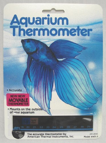Aquarium Thermometer Ati - 7 - Part #: A-1007