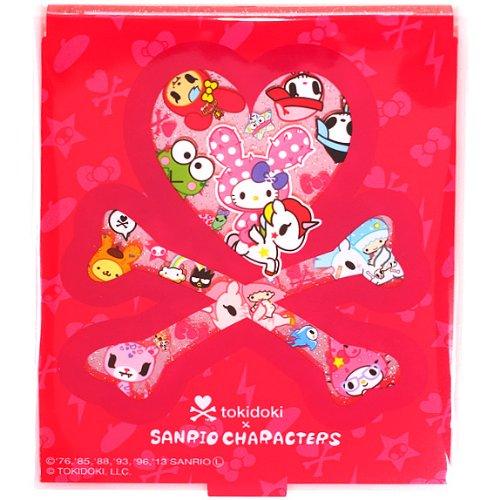 サンリオキャラクターズ コンパクトミラーM ピンク ファッション 美容 メイク道具 メイク用品