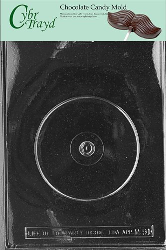 cybrtrayd-m091-compact-disk-miscellaneous-chocolate-candy-mold-by-cybrtrayd