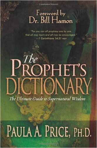 Prophets Dictionary (HC) written by PRICE PAULA