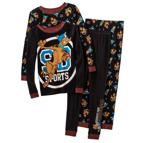 Scooby-Doo Little Boys' 4-Pc. Pajama Set (4) front-175664