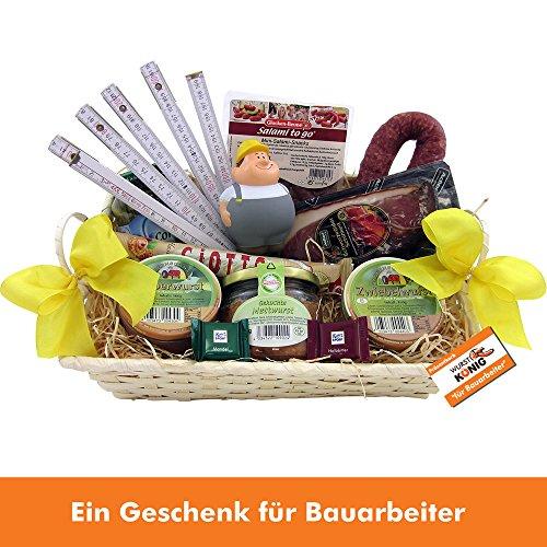 Bauarbeiter Handwerker Geschenk-Korb thumbnail