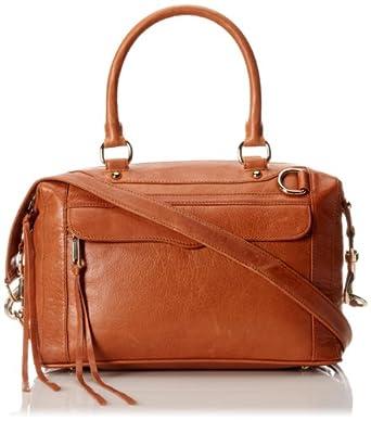 Rebecca Minkoff MAB Mini Satchel Handbag,Almond,One Size