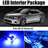 51FRoGuYJYL. SL160  Scion tC BLUE Interior LED Package (7 Pieces)