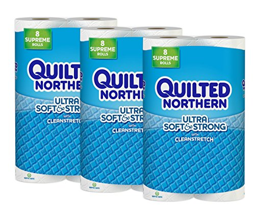 Toilet Paper Quilted Northern Ultra Soft Strong 24 Supreme