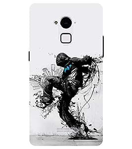Chiraiyaa Designer Printed Premium Back Cover Case for Coolpad Note 3 Plus (dancer dance) (Multicolor)