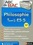 ABC du BAC Excellence Philosophie Ter...
