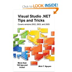 Visual Studio .NET Tips and Tricks