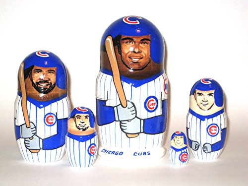 Chicago Cubs * MLB Baseball * or any other sport team * 5 pcs / 6 in