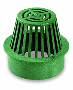 Amazon Com Nds 80g Atrium Grate 6 Inch Green Drain