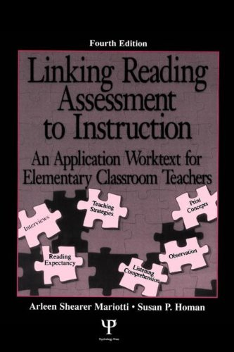Linking Reading Assessment To Instruction: An Application Worktext For Elementary Classroom Teachers front-949225