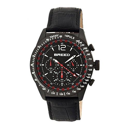 montre-breed-affichage-analogique-bracelet-cuir-noir-et-cadran-noir-brd5505
