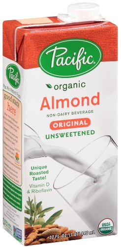 Pacific Natural Foods Organic Unsweetened Almond