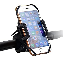 Innoo Tech Mount Bike Phone Holder Universal Bicycle Motorcycle Scooter baby strollers Handlebar Roll bar Mount Cradle for Phones, GPS etc.
