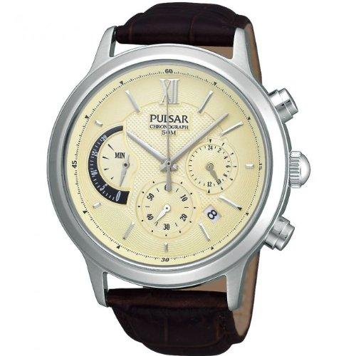 Pulsar by Seiko Uhr Herren Chronograph PU6007 X1 mens watch chrono 5 BAR WR