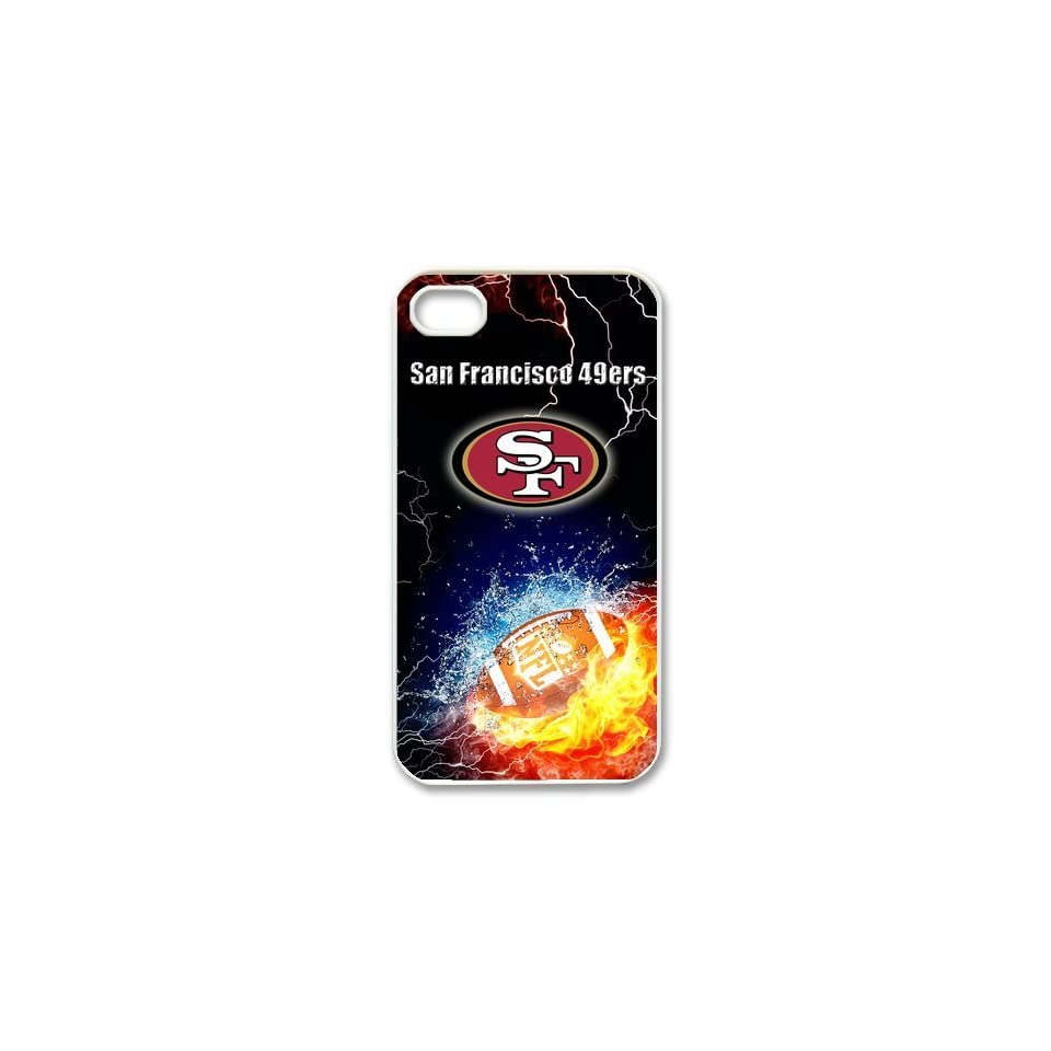 Nfl San Francisco 49ers Iphone 4/4s Best Cases Cover 1l607 Cell Phones & Accessories