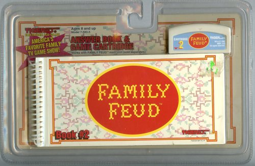 Family Feud Answer Book & Game Cartridge #2