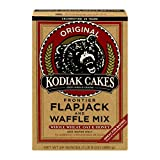 Kodiak Cakes Flapjack and Waffle Mix, Frontier, 24 Ounce (Pack of 6)