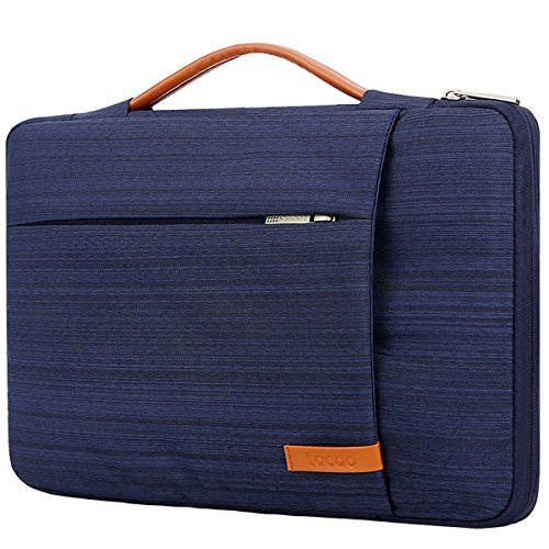 Lacdo 360° Protective Laptop Sleeve Case Briefcase for 15.6 Inch Acer Aspire, Predator, Toshiba, Dell Inspiron, ASUS P-Series, HP Pavilion, Lenovo Chromebook Notebook Bag, Water Repellent, Light Blue [+Peso($38.00 c/100gr)] (US.AZ.18.99-0-B076Z7JT5J.17746