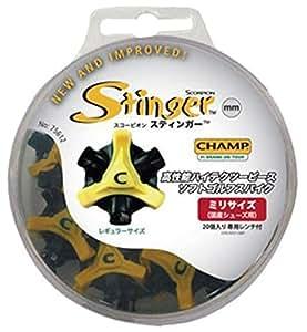 ライト(LITE) スティンガー III(ミリ) スパイク鋲 20個入 S-87