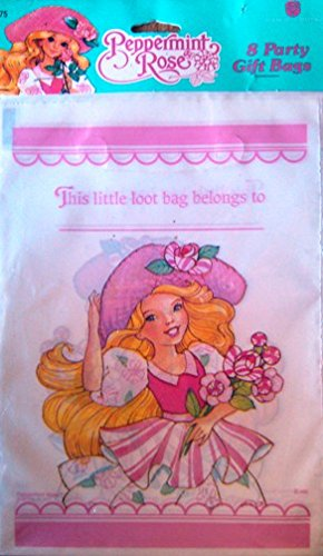 Peppermint Rose Loot Bags (8) 1992 - 1
