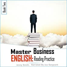 Reading Practice: Master Business English, Book 2 Audiobook by Jenny Smith Narrated by Jus Sargeant