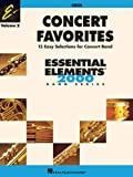 img - for CONCERT FAVORITES VOLUME 2 OBOE ESSENTIAL ELEMENTS 2000 BAND SERIES book / textbook / text book