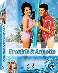 Frankie & Annette MGM Movie Legends Collection (Beach Blanket Bingo / How to Stuff a Wild Bikini / Beach Party / Bikini Beach / Fireball 500 / Thunder Alley / Muscle Beach Party / Ski Party)
