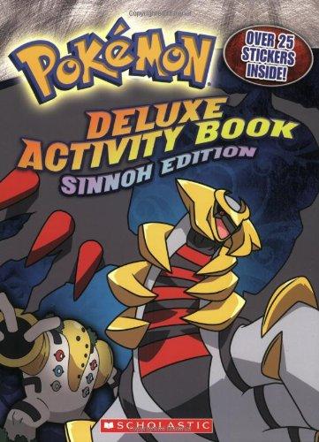 Pokemon: Deluxe Activity Book: Sinnoh Editon: Sinnoh Edition (Pokemon Coloring Book compare prices)