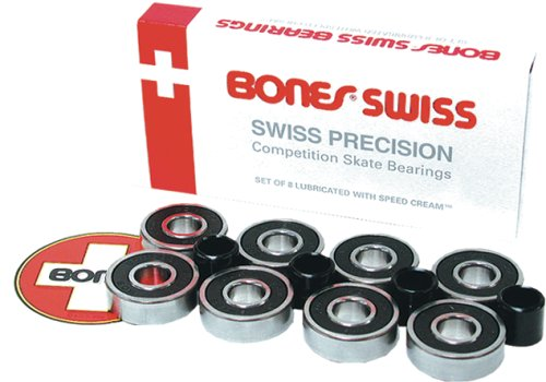 Bones Swiss 7-Ball Skateboard Bearings