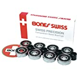 ESS Bones Swiss Skateboard Bearings - BONES by Bones