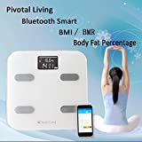 Pivotal Living Bluetooth High Precision Digital Wireless Backlit LCD Fat Sc ....