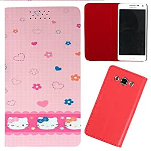 DooDa - For Sony Xperia Z1 Compact PU Leather Designer Fashionable Fancy Flip Case Cover Pouch With Smooth Inner Velvet