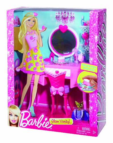 barbie glam vanity furniture set new ebay