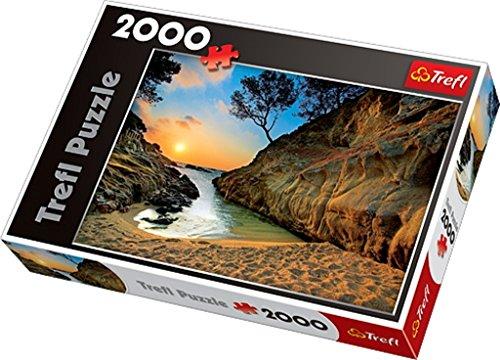 trefl-27048-puzzle-sunrise-costa-brava-spain-2000-pieces